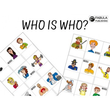 WHO IS WHO? игра в формате pdf