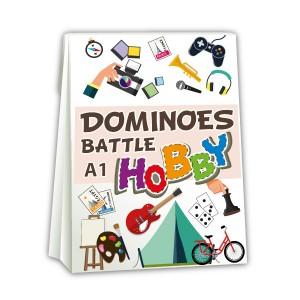 Dominoes colours battle
