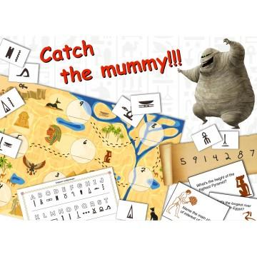 Квест на английском языке Catch the mummy pdf
