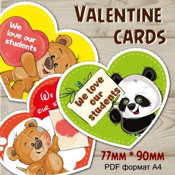 Valentine cards pdf