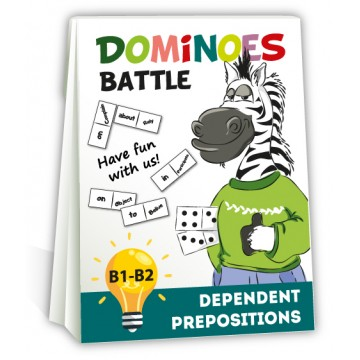 "Dominoes ""Dependent prepositions"""