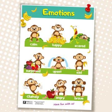 """Плакат А3 формат """"Эмоции"""""""